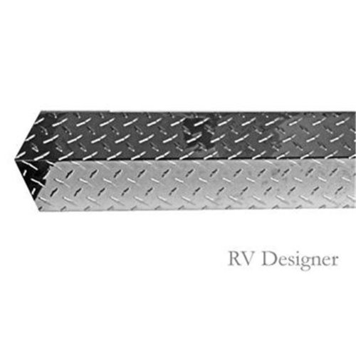 RV Designer E485 96 in. Stainless Steel Bumper Cover