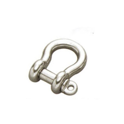 8mm STAINLESS STEEL 316 (A4) Bow shackle