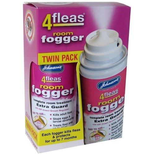 Johnsons 4fleas Room Fogger 100ml (Twin Pack)