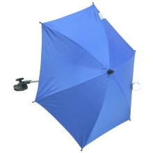 Baby Parasol compatible with Maclaren Twin Traveller Blue