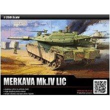 Aca13227 - Academy 1:35 - Idf Mbt Merkava Mk Iv Lic 01/2011