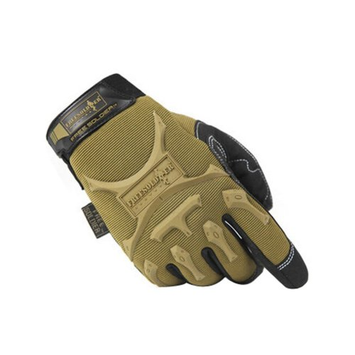 Cool Outdoor Sport Hunting Camping Climbing Gloves BROWN, L