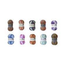 Cygnet Kiddies Couture DK Prints Yarn