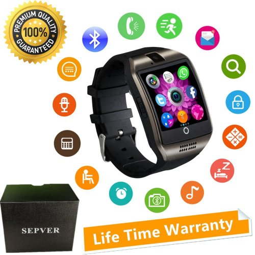 8119f7d51eb Smart Watches SN06 Smartwatch Unlocked Watch Phone With Camera Touch Screen  Sim Card Slot Pedometer Fitness Tracker For ios iPhone Android Samsung... on  ...