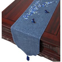 Coffee Table Cloth Drape Table Cloth Linen Table Runner Modern Chinese