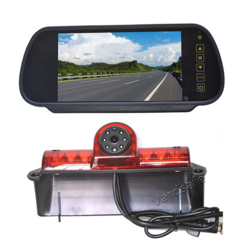 Vardsafe Reverse Rear View Backup Camera+Replacement Mirror Monitor for Chevy Express
