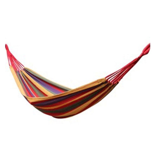 """Simple Colourful Canvas Stripe Quilted Fabric Hammock Foldable Hammock 72.8*31"""""""