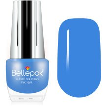 Bellepok 10-FREE Nail Polish - Baby Blue | Non-Toxic Blue Nail Varnish