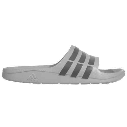adidas Duramo Slide Mens Flip Flop Sandal Grey