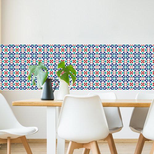 Walplus Tile Marrakech Tiles Wall Sticker Decal (Size: 20m x 20cm @ 12pcs)