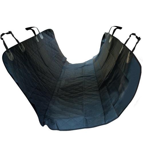 PawHut 600D Oxford Dog Car Seat Cover Back Rear Protector Universal Waterproof Anti-Scratch Nonslip Black