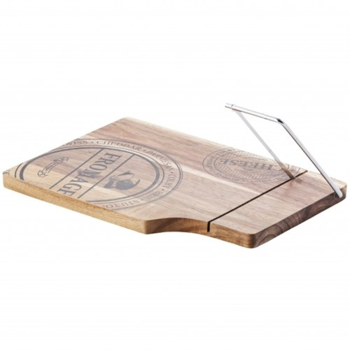 Wooden Cheese Board with Cutter SPILI
