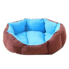 Octagonal Detachable Small And Medium-sized Pet Kennel, Sky Blue