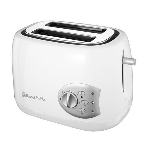 Russell Hobbs Breakfast Collection 2-Slice Toaster 18541 - White Gloss