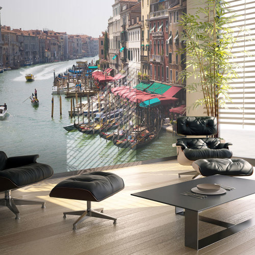 Wallpaper - The Grand Canal in Venice, Italy