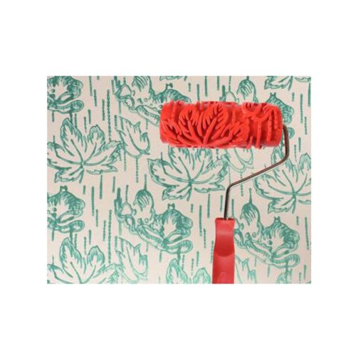 Classical Embossed Paint Roller Wall Painting Runner Wall DIY Tool, Pattern 04