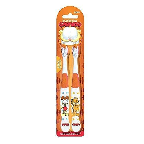 Brush Buddies Garfield and Odie Toothbrush 2 Pack