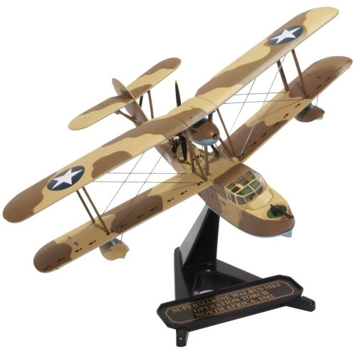1:72 Vickers Supermarine Walrus Operation Torch, North Africa 1942 Model Plane