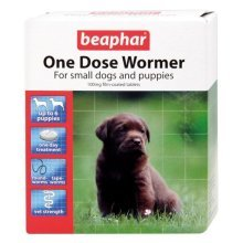 Beapher One Dose Wormers for Dogs, Puppy, Small, Large