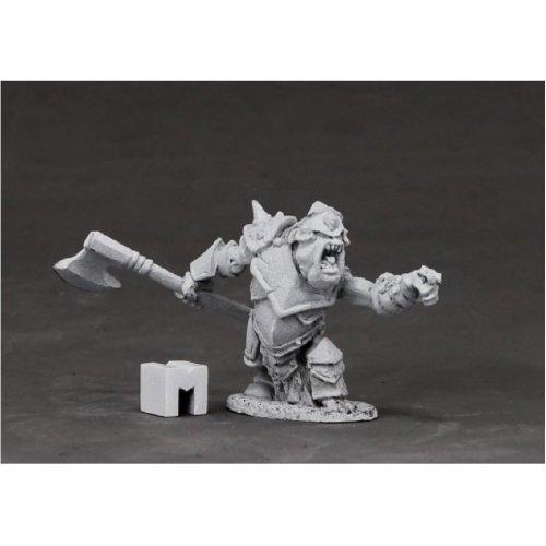 Reaper Miniatures Dark Heaven Legends 03852 Armoured Goblin Boss