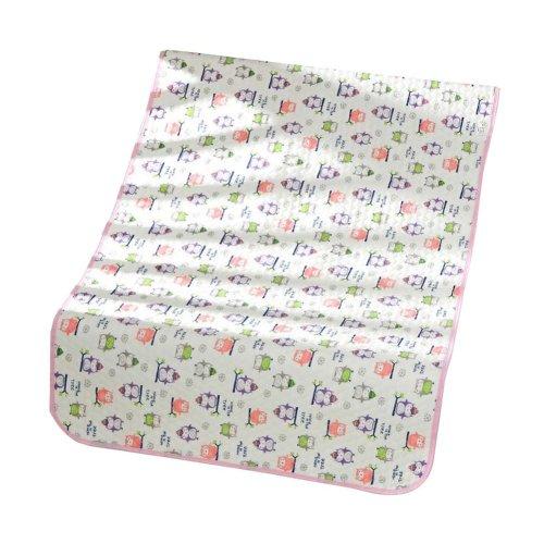 Set of 2 Waterproof Baby Diaper Changing Pads Diaper Liners PINK, 30x45cm