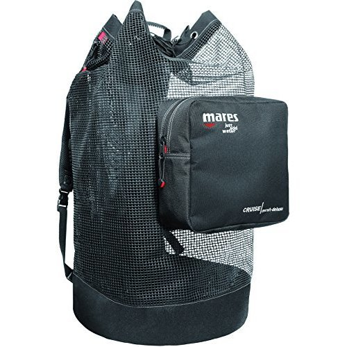 Mares Cruise Backpack Mesh Deluxe Bag Black