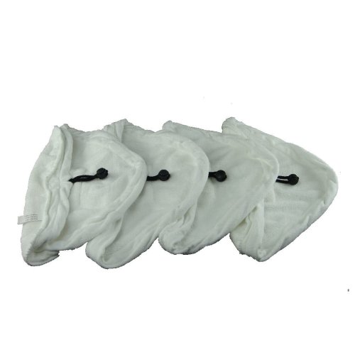 4 X Steam Mop Microfibre Cleaning Cloth Cover Pads Kit Fits Swan
