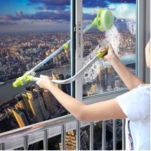Telescopic High-rise Window Glass Cleaning Cleaner Brush Windows Dust Brush Safe