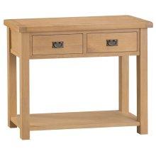 Colchester Chunky Oak Medium Console Table