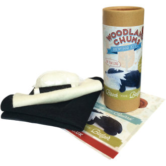 The Crafty Kit Co. Mini Sewing Kit-Brock The Badger