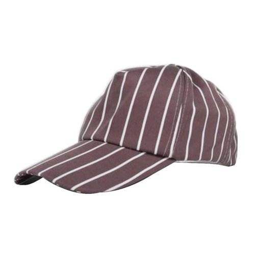 [Coffee Stripe] Kitchen Chef Hat Restaurant Waiter Hat Cafes Baseball Cap