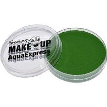 15g Green Face Paint With Sponge & Brush - Aqua Makeup Fancy Dress Halloween W -  brush aqua makeup fancy dress 15g sponge halloween green wsponge