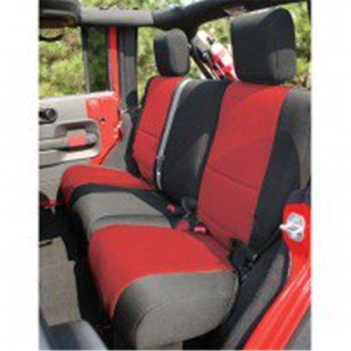 Neoprene Rear Seat Cover, 07-14 Jeep Wrangler Unlimited JK
