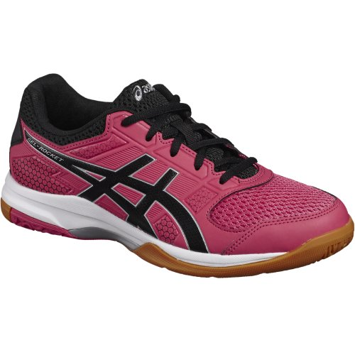 Asics Gel-Rocket 8 B756Y-1990 Womens Red volleyball shoes