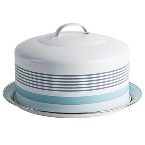 Jamie Oliver Vintage Cake Tin, Harbour Blue, Large