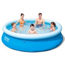 Bestway Fast Set Round Inflatable Swimming Pool 305 x 76 cm 57266