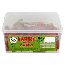 Haribo Happy Cherries Sweets Tub 120's