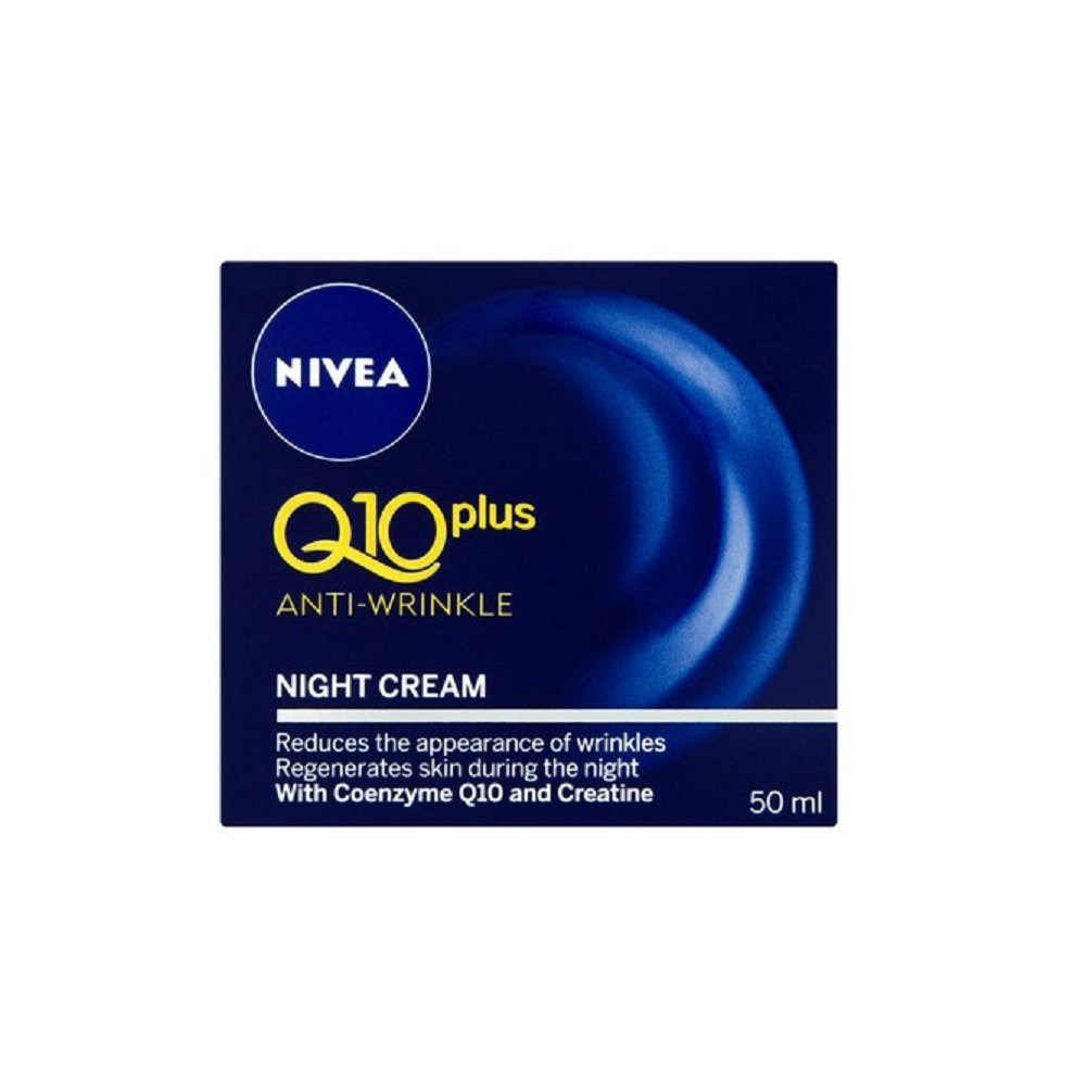Nivea Q10 Plus Anti-Wrinkle Night Cream 50ml
