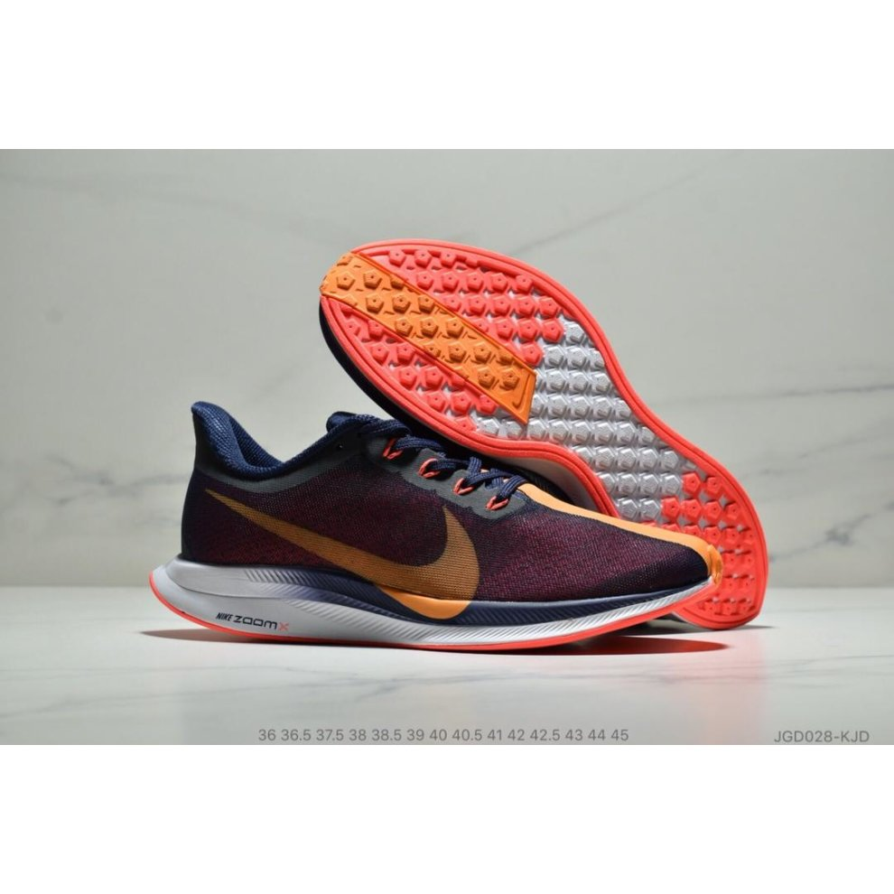 buy popular 6056b ad97e Zoom Pegasus 35 Turbo Navy Blue Orange
