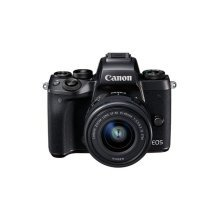 Canon EOS M5 Mirrorless Camera with Canon EF-M 15-45 Lens - Black
