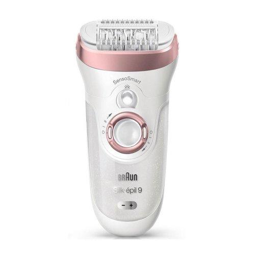 Braun Silk-epil 9 SkinSpa SensoSmart Wet and Dry Epilator Hair