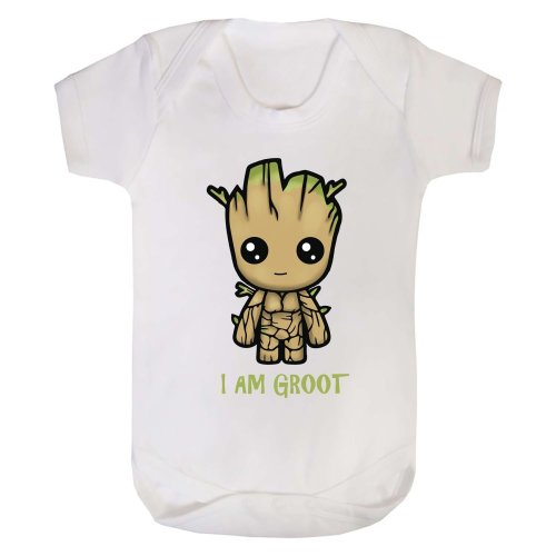 I Am Groot Baby Grow