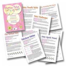 Flower Fairy Party Games Pack