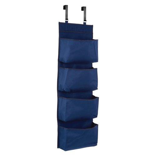 Blue Over Door Hanging Organiser
