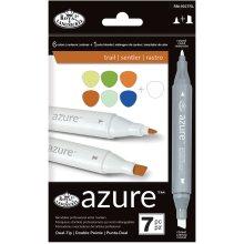 Azure Marker Set 7/Pkg-Trail Colors