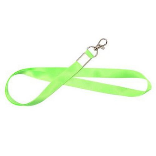 Set of 10 Neck Lanyards Badge Lanyards Card Lanyards without Badge Holders [P]