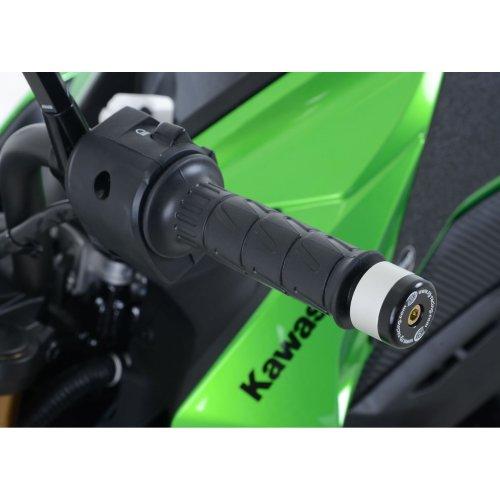 R&G Bar End Sliders for Kawasaki Z125 2016 - 2018 & Yamaha Tricity 2014 onward