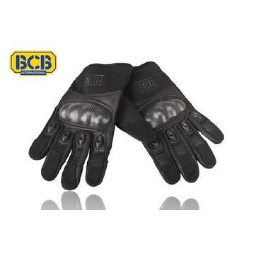 BCB CB214M Military Tactical Gloves Black Medium