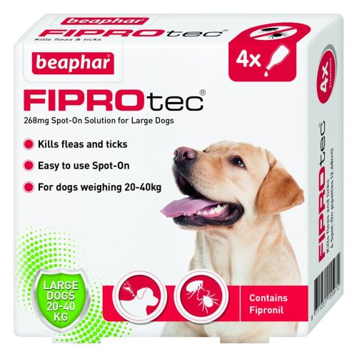 Fiprotec Spot On Large Dog 4 Pipette