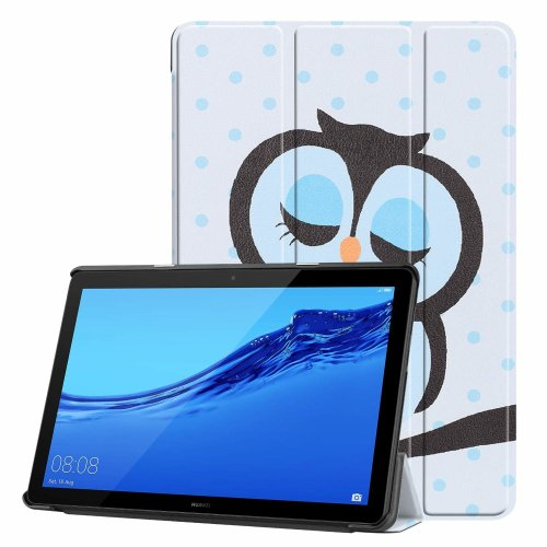 super popular 9aa2b e110e Acelive Huawei T5 Case, Ultra Slim Smart Leather Case Cover with Stand  Function for Huawei Mediapad T5 10 10.1 Inch Tablet 2018